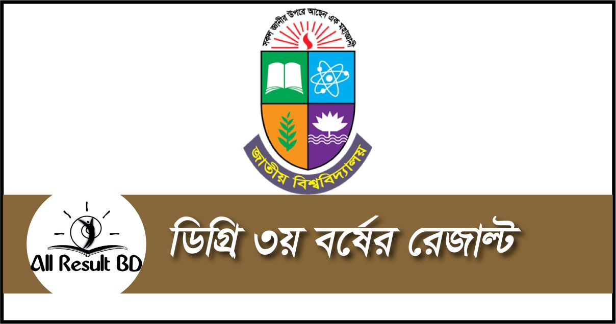 Degree 3rd year exam result